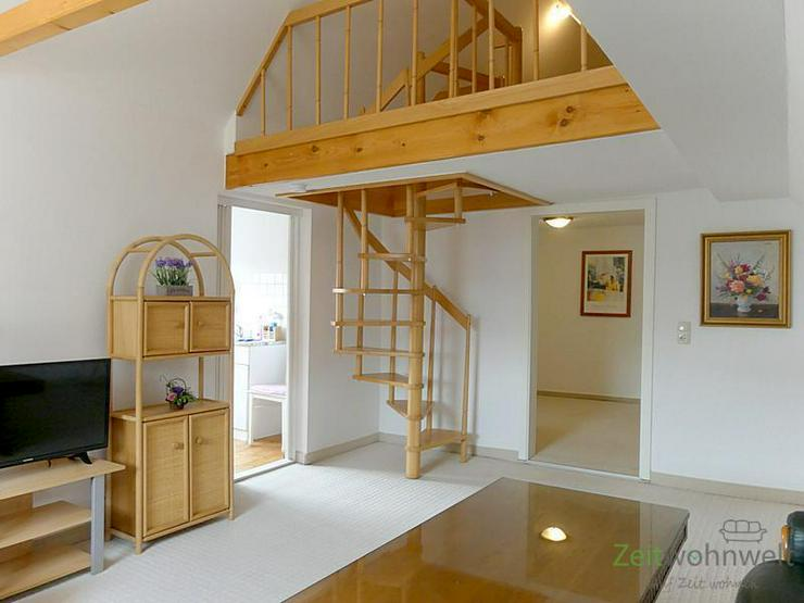 (EF0403_M) Ilmenau: Wolfsberg, schöne kleine möblierte Maisonette-Wohnung mit separater ...