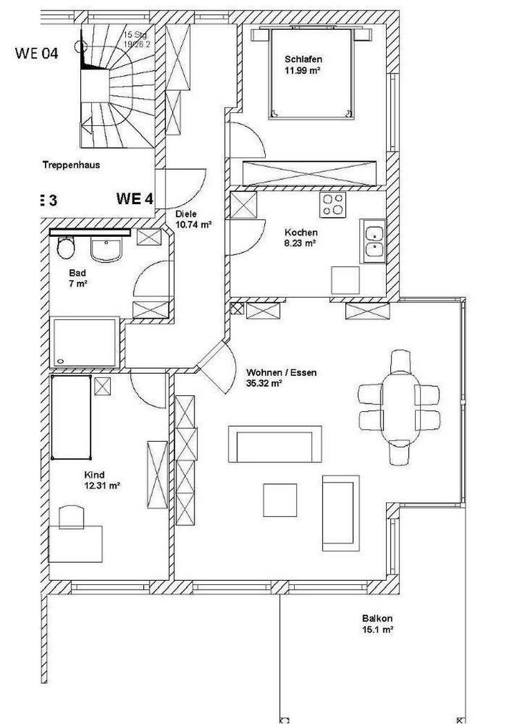 3 Zimmerwohnung - NEUBAU - in kleiner Wohneinheit von ihrem Immobilienprofi in der Region ...