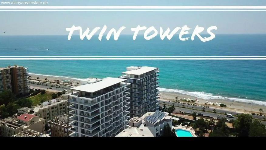 Bild 2: Twin Towers 2 Zimmer Duplex Luxus Wohnung direkt am Strand.