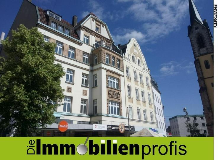 Büro in repräsentativem Altbau in direkter Innenstadtlage/Fußgängerzone von Hof