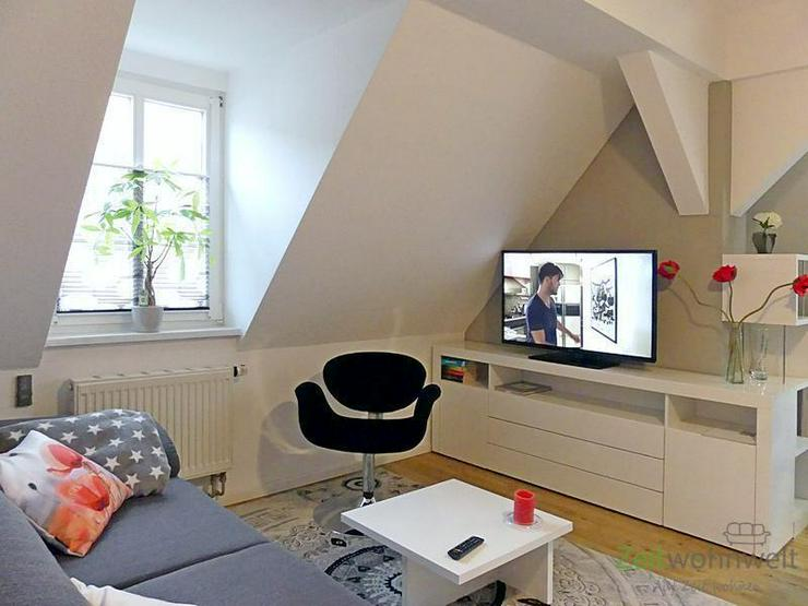 (EF0479_M) Dresden: Laubegast, neu möbliertes 2-Zimmer-Apartment im denkmalgeschützten E...