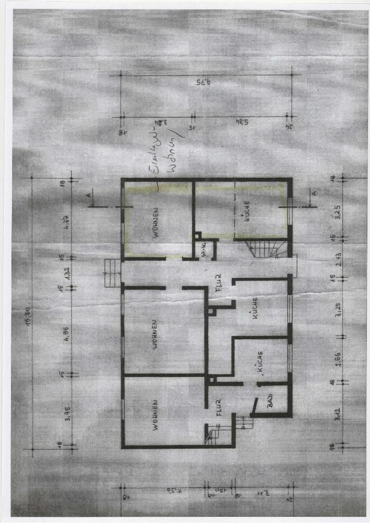 Bild 12: Inklusive Baugrundstück ! Sanierungsbedürftiges 2-Familienhaus mit Einliegerwohnung