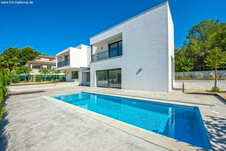 : Moderne Villa unmöbliert in Costa de la Calma zu vermieten