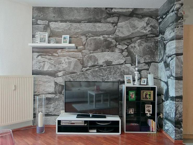 Bild 3: (12536_48) MGN: ruhige 2-Raum-Wohnung mit Balkon und rotem Laminatboden in der Heimstraße...