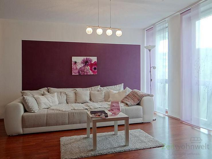 (12536_48) MGN: ruhige 2-Raum-Wohnung mit Balkon und rotem Laminatboden in der Heimstraße... - Wohnung mieten - Bild 1