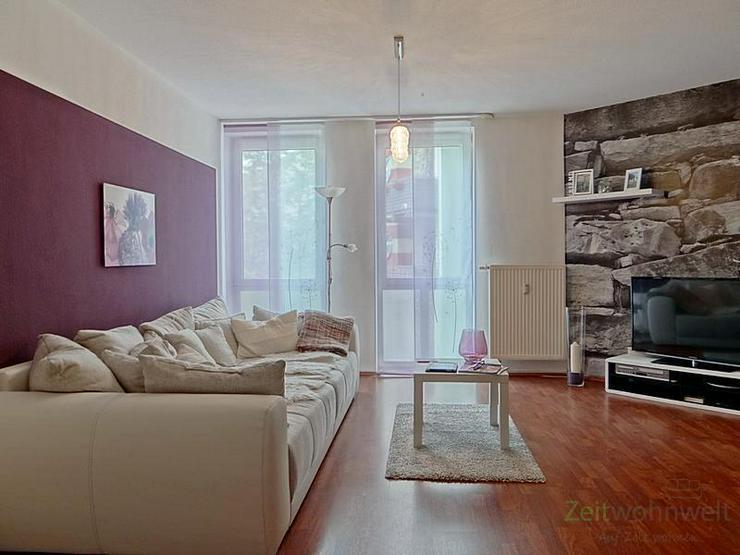 Bild 2: (12536_48) MGN: ruhige 2-Raum-Wohnung mit Balkon und rotem Laminatboden in der Heimstraße...