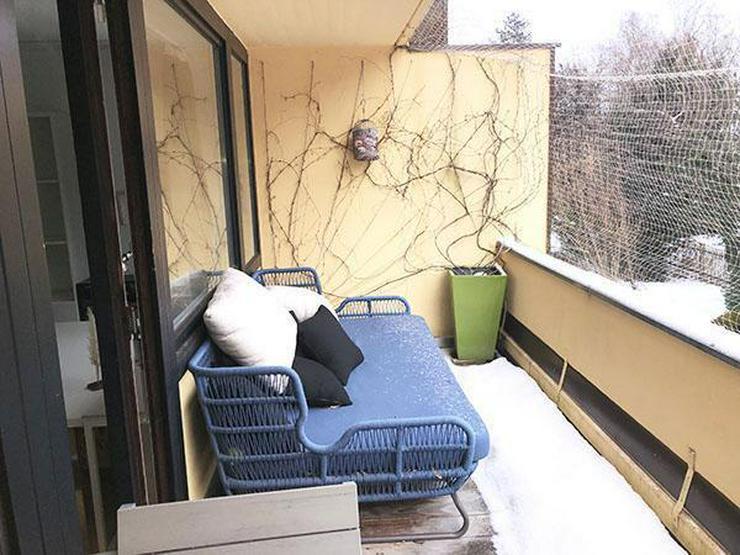 Bild 6: München, Solln, Wohnung, extravagante ruhige vollmöblierte 2-Zimmerwohnung 78 qm im 1-OG...