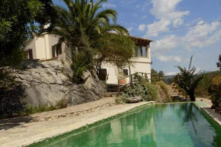 LANGZEITMIETE: ländliches Chalet bei Esporlas mit 4 Schlafzimmern und Pool - Auslandsimmobilien - Bild 1