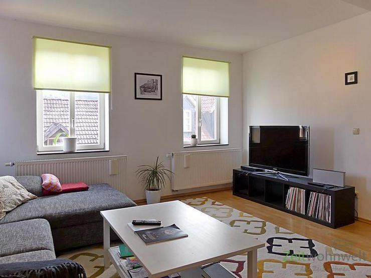 (EF0484_M) Meiningen: Meiningen, möblierte City-Wohnung mit separater Arbeitsecke, hell u...