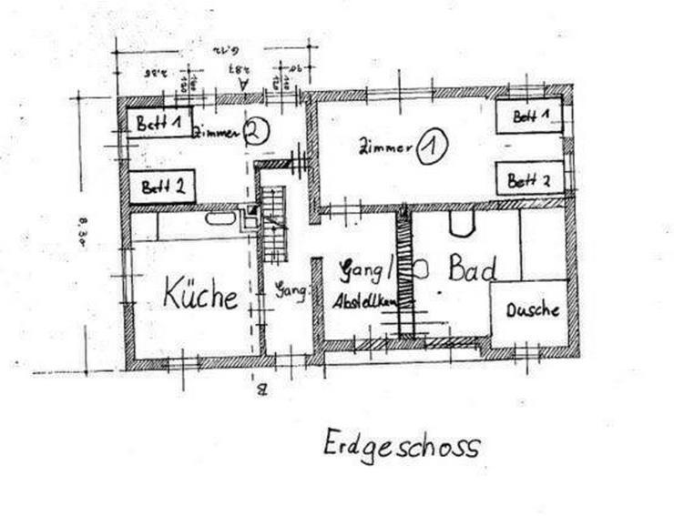 Monteurzimmer/Schlafplatz für Studenten und andere inkl. Wifi, TV, - all inklusive - *ab ...