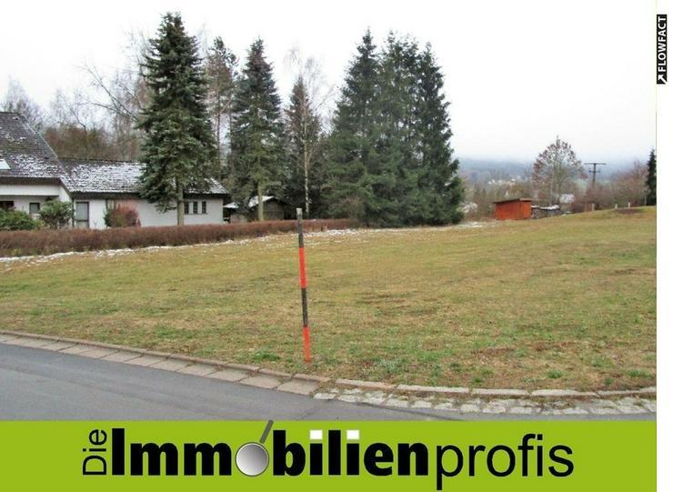 Attraktives Baugrundstück im Staatsbad Bad Steben