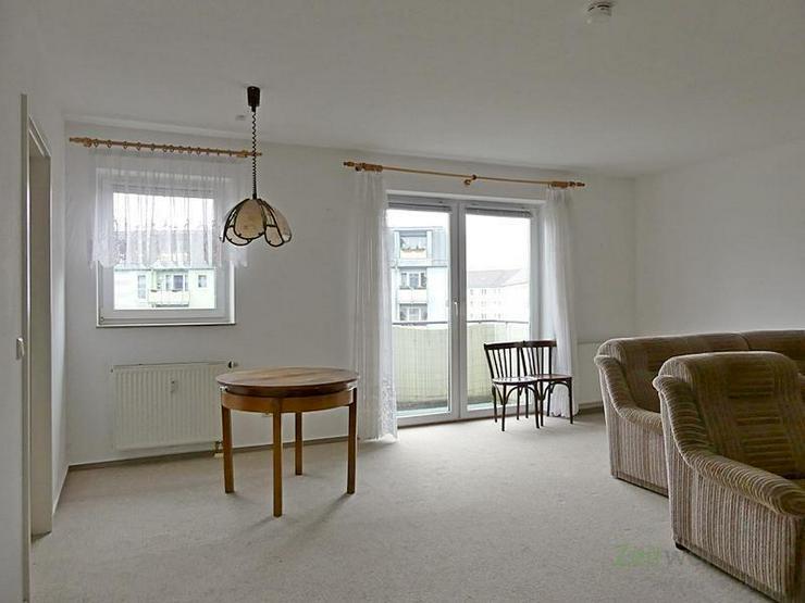 Bild 2: (12537_25) MGN: bezugsfertige helle 2-Raum-Wohnung mit Südbalkon zum Innenhof, Kabel-TV u...