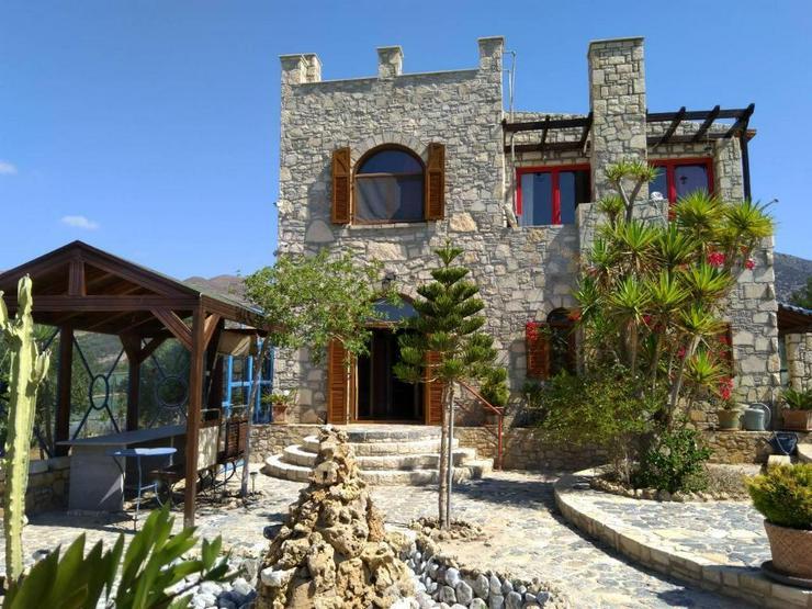 Bild 2: Steinhaus in Tsoutsouros Süd Kreta 180qm Wohnfläche 3650qm Grundstück