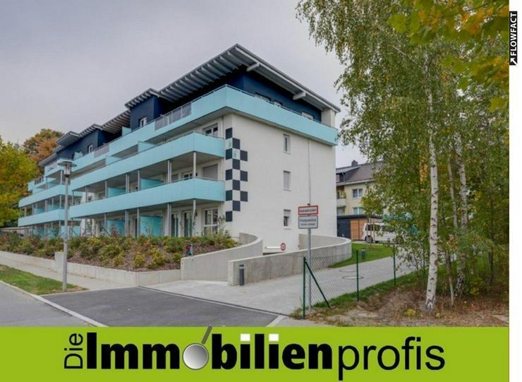 Großzügige 2 Zimmer-Neubau-Eigentumswohnung mit Terrasse und Gartenanteil in Hof-Kröten...