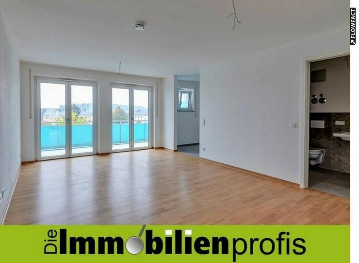 Sofort bezugsfertige 2 Zimmer-Neubau-Eigentumswohnung mit Süd-Balkon in Hof-Krötenbruck