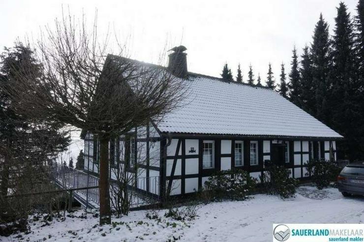 freistehendes Fachwerkhaus in Düdinghausen