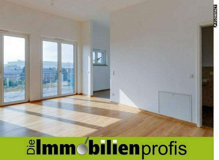 Herrlich! 2 Zimmer-Penthaus-Neubau-Eigentumswohnung mit großzügiger Dachterrasse in Hof-...