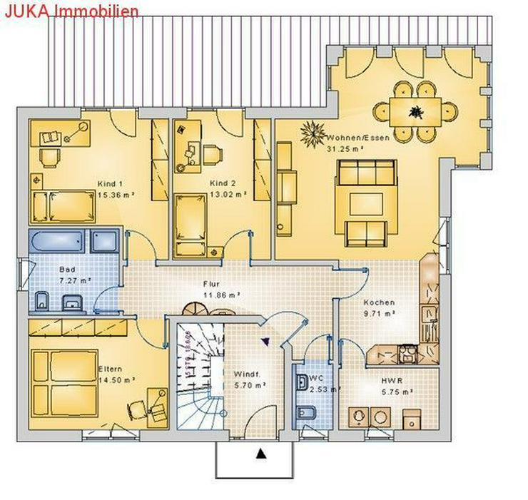 Bild 2: Energie *Speicher* 2 Wohneinheiten Haus KFW 55 *schlüsselfertig* *Mietkauf* GROßFAMILIEN...