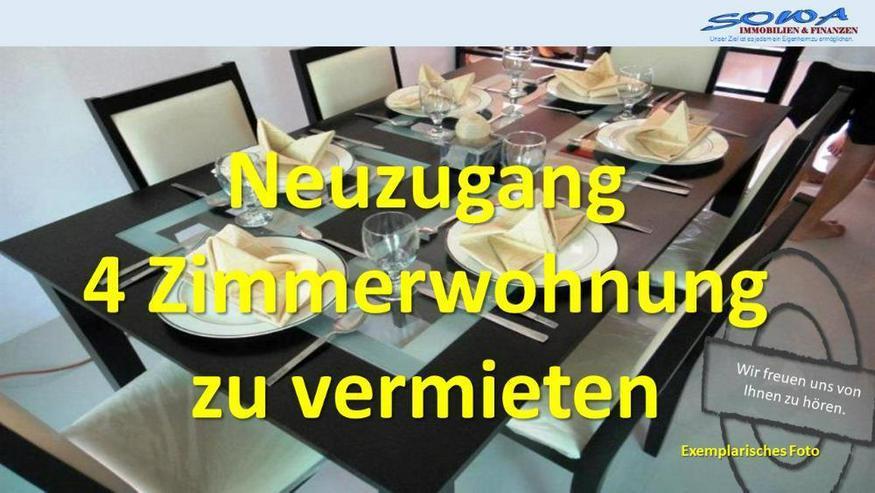 Sofortiger Bezug möglich! 4 Zimmerwohnung mit Stellplatz - Ihr Immobilienmakler SOWA Immo...
