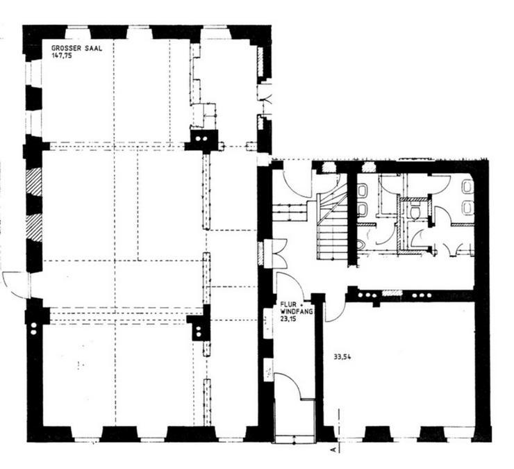 Bild 2: Sanierte Einzelhandels- oder Büroräume in der Marienstraße in Hof