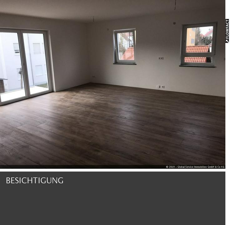 Helle Neubau Wohnung 1 Stock in Welden mit Aufzug & Kellergarage