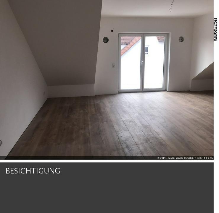 Helle Neubau Dachgeschoss Wohnung in Welden mit Aufzug und Carport