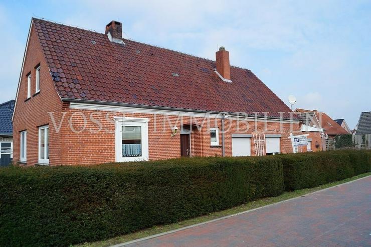 Doppelhaus auf großem Grundstück