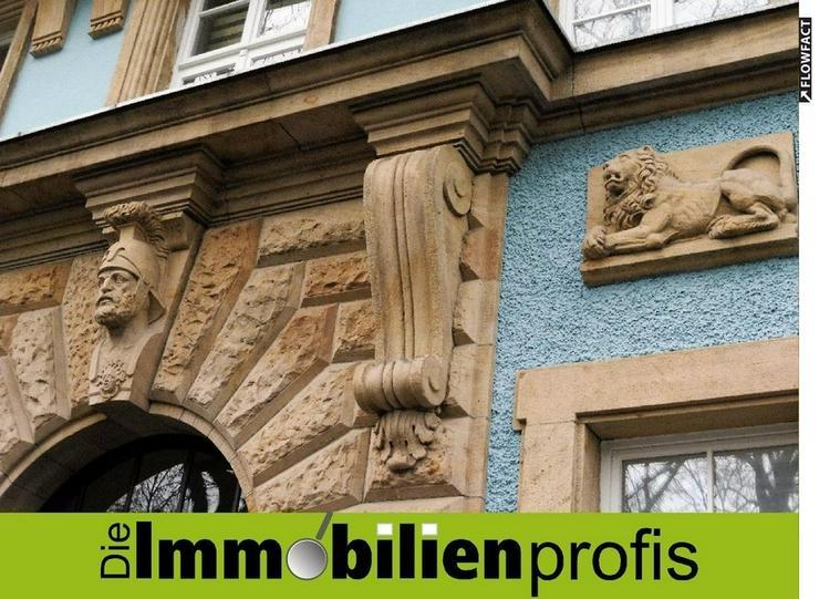 3-Zimmer-Wohnung in historischem Altbau im Jugendstilviertel in Hof