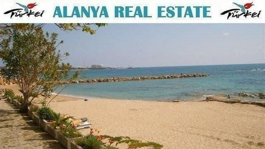 Voll möblierte Doppelhaushälfte am Strand von Avsallar