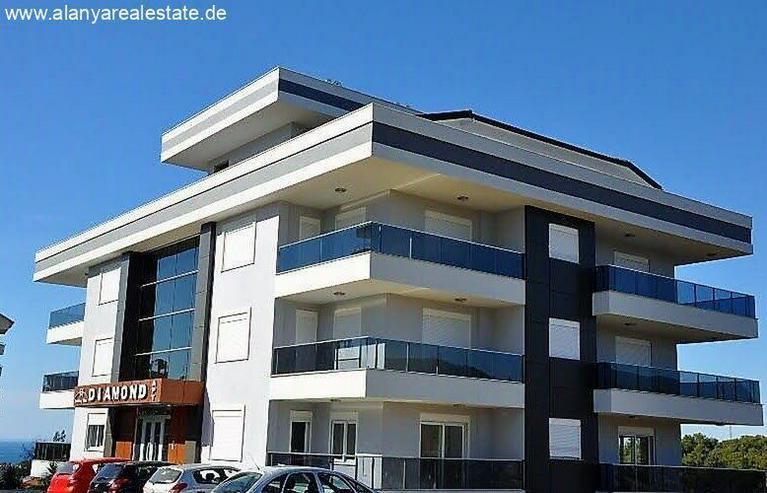 Bild 3: 3 Zimmer Duplex Penthaus Wohnung voll möbliert mit Pool und Meerblick in Avsallar