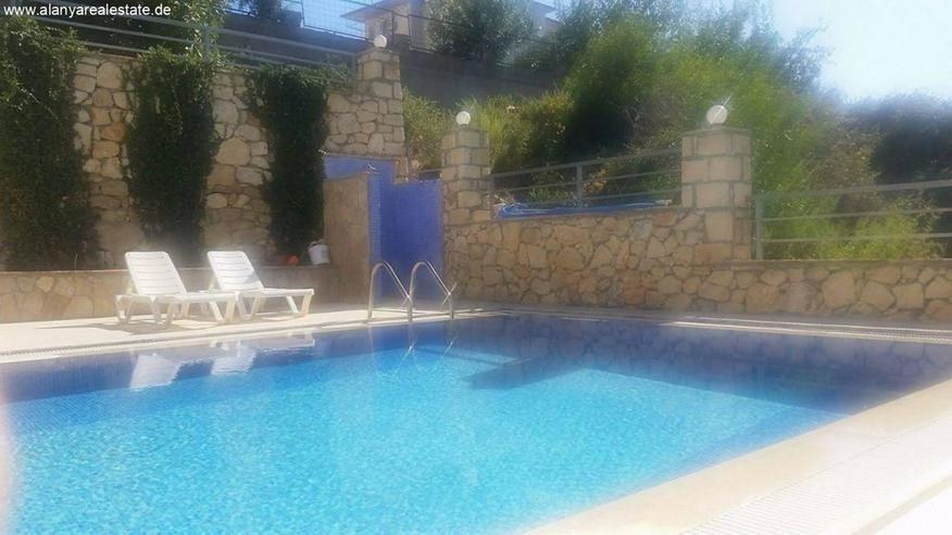 Bild 5: 3 Zimmer Duplex Penthaus Wohnung voll möbliert mit Pool und Meerblick in Avsallar