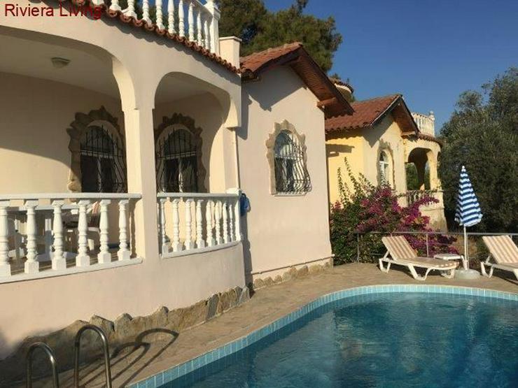 Komplett möblierte Villa zum Kauf in ruhiger Lage von Avsallar