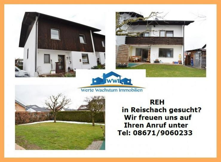 Kapitalanleger gesucht für Reiheneckhaus in zentraler Siedlungslage von 84571 Reischach - Haus kaufen - Bild 1