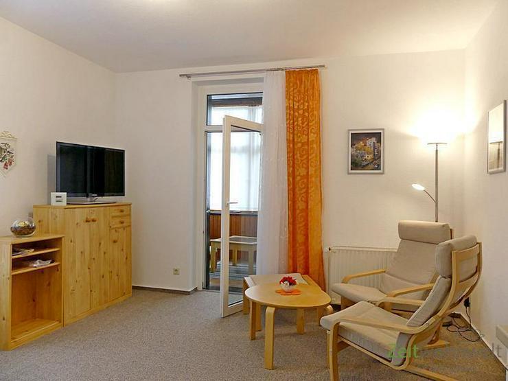 (EF0499_M) Dresden: Klotzsche, kleines möbliertes 2-Zimmer Apartment m. Veranda, ruhige W...