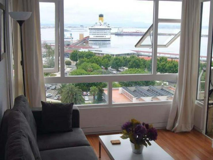 LANGZEITMIETE: Apartment mit 1 Schlafzimmer und Hafen-Blick in Palma