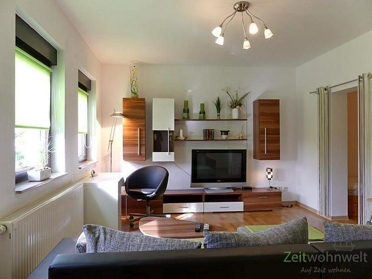 (EF0074_Y) Gera: Ronneburg, möblierte 1,5--Raumwohnung mit separatem Hauseingang, Schreib...
