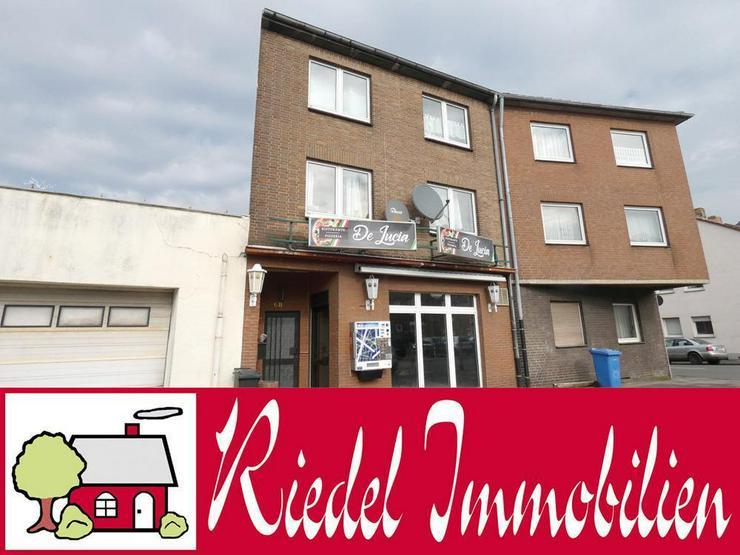 2-Familienhaus mit Gewerbe im EG (Pizzeria) - Gewerbeimmobilie kaufen - Bild 1