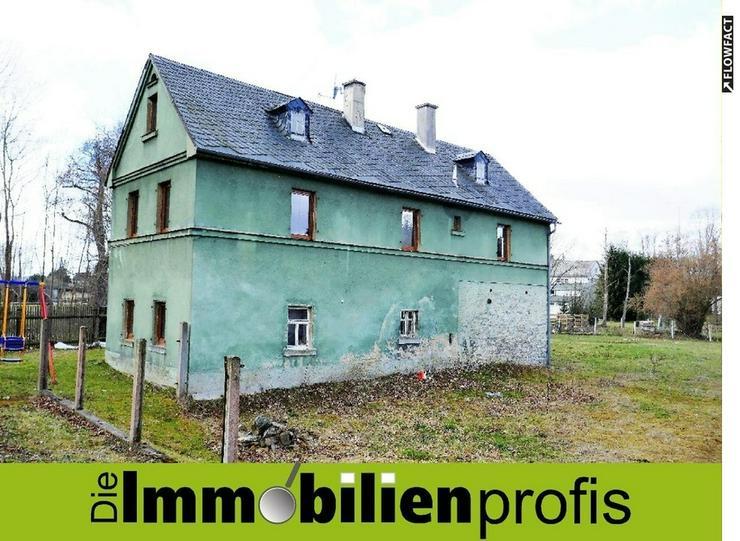 Älteres Wohnhaus mit ca. 950 m² Grundstück in Regnitzlosau
