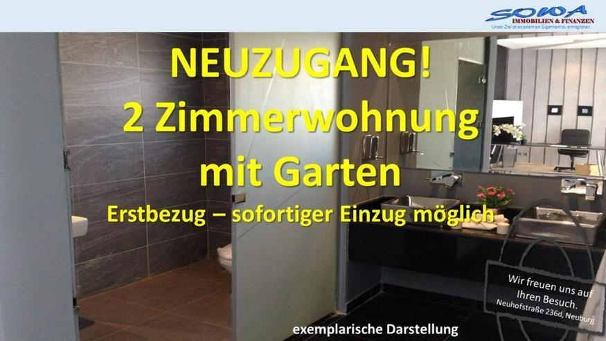 Erstbezug! Ergeschosswohnung mit Terrasse in Neuburg an der Donau - Eine Immobilie von SOW...
