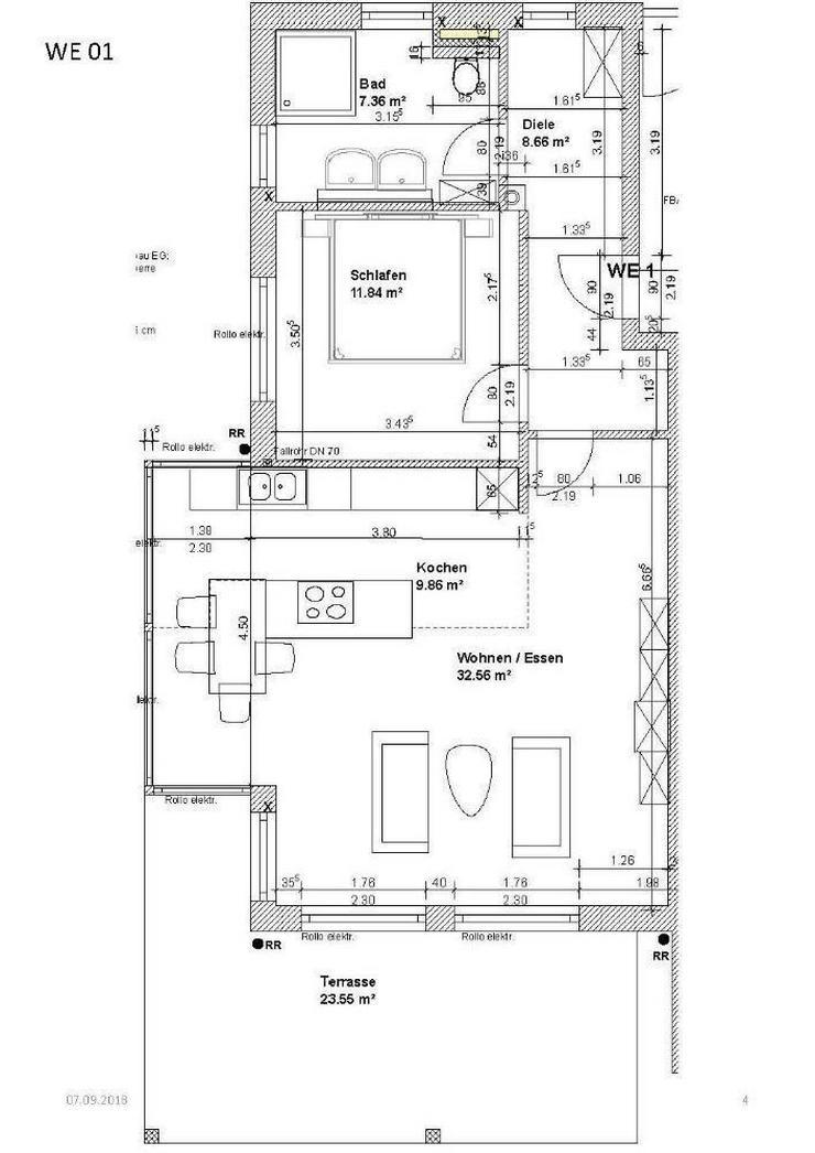 Neubau! 2 Zimmer Erdgeschosswohnung mit Garten - Ein Objekt von ihrem Immobilienprofi in d...