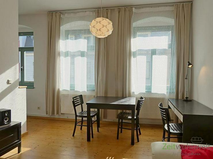 (EF0502_M) Dresden: Äußere Neustadt, ruhige 2-Zimmer Wohnung nahe am Szeneviertel, Holzd...