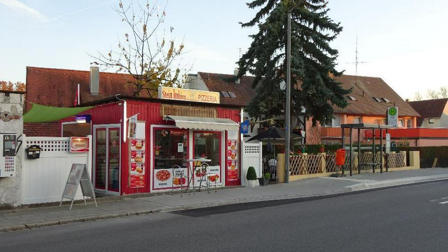 Imbisscontainer mit Garten ideal für Döner Pizza etc. - beste Alleinlage - FREI - Gewerbeimmobilie mieten - Bild 1