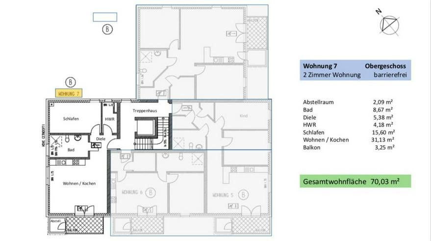 Bild 5: Wunderschöne 2-Zimmer ETW in Broistedter Neubau