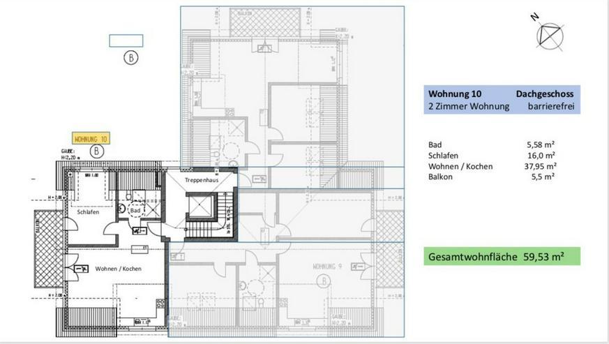 Bild 5: Extravagante 2-Zimmer- Dachgeschoss ETW in Broistedter Neubau