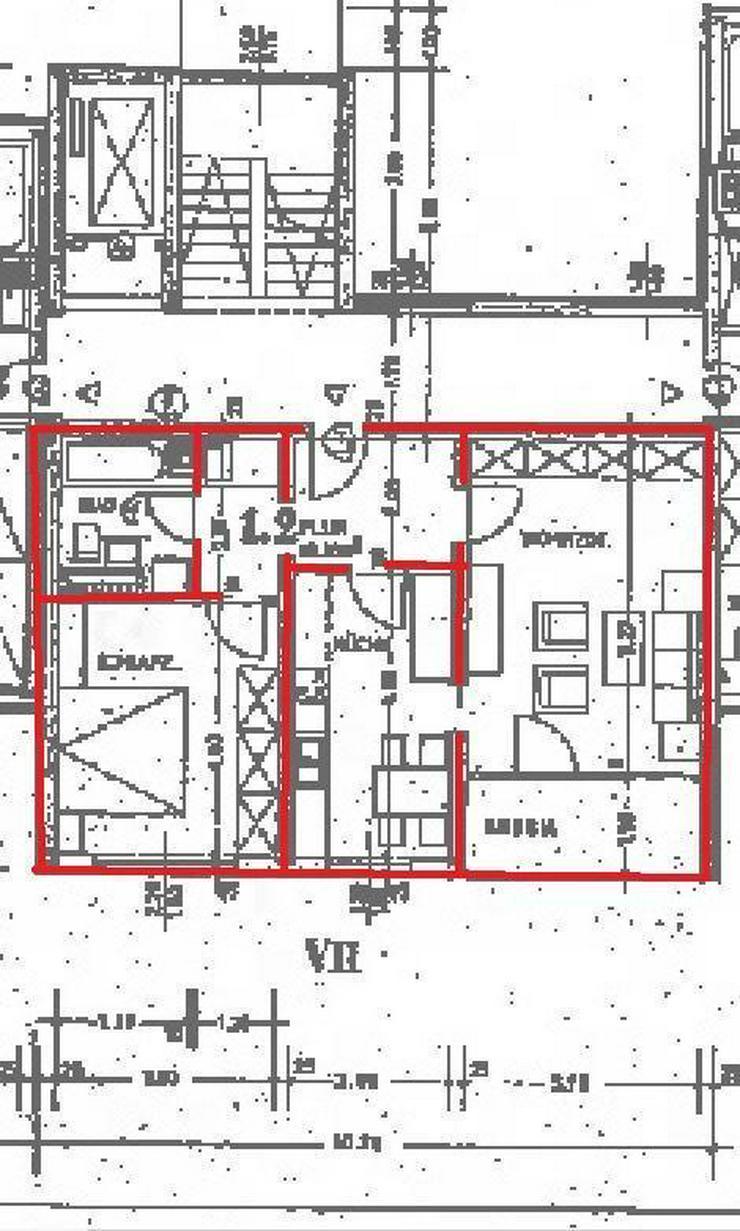 Bild 4: Neu renovierte 3-Zimmer-Wohnung im 6. OG mit schöner Aussicht!