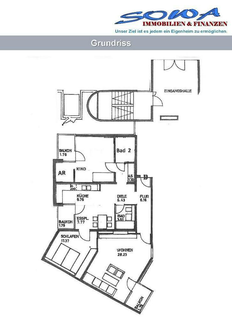 Bild 2: 3,5 Zimmer Wohnung in Garching im EG mit Balkon - Von Ihren Immobilien Experten SOWA Immob...