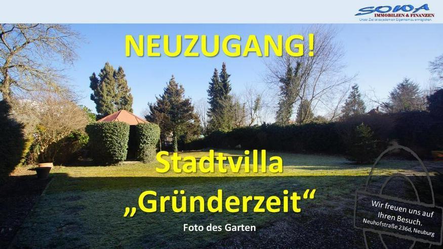 Stadtvilla aus der Gründerzeit - Beste Stadtlage mit Garten in Neuburg an der Donau - Ein...