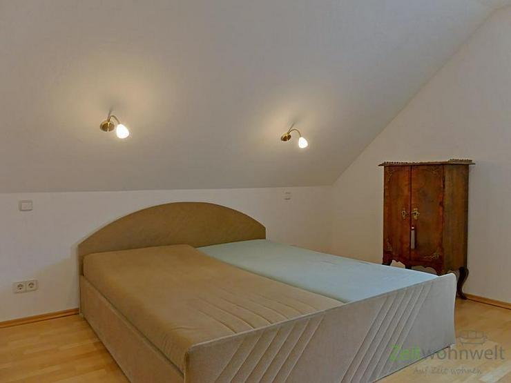 Bild 5: (EF0504_M) Dresden: Ullersdorf, großzügige möblierte Wohnung mit eigenem Balkon in ruhi...