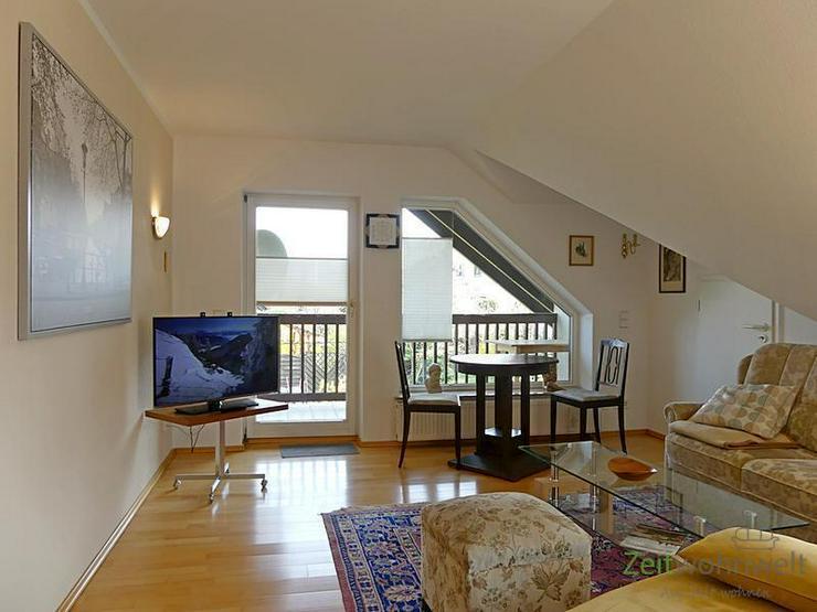 (EF0504_M) Dresden: Ullersdorf, großzügige möblierte Wohnung mit eigenem Balkon in ruhi... - Wohnen auf Zeit - Bild 1