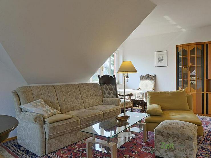 Bild 2: (EF0504_M) Dresden: Ullersdorf, großzügige möblierte Wohnung mit eigenem Balkon in ruhi...